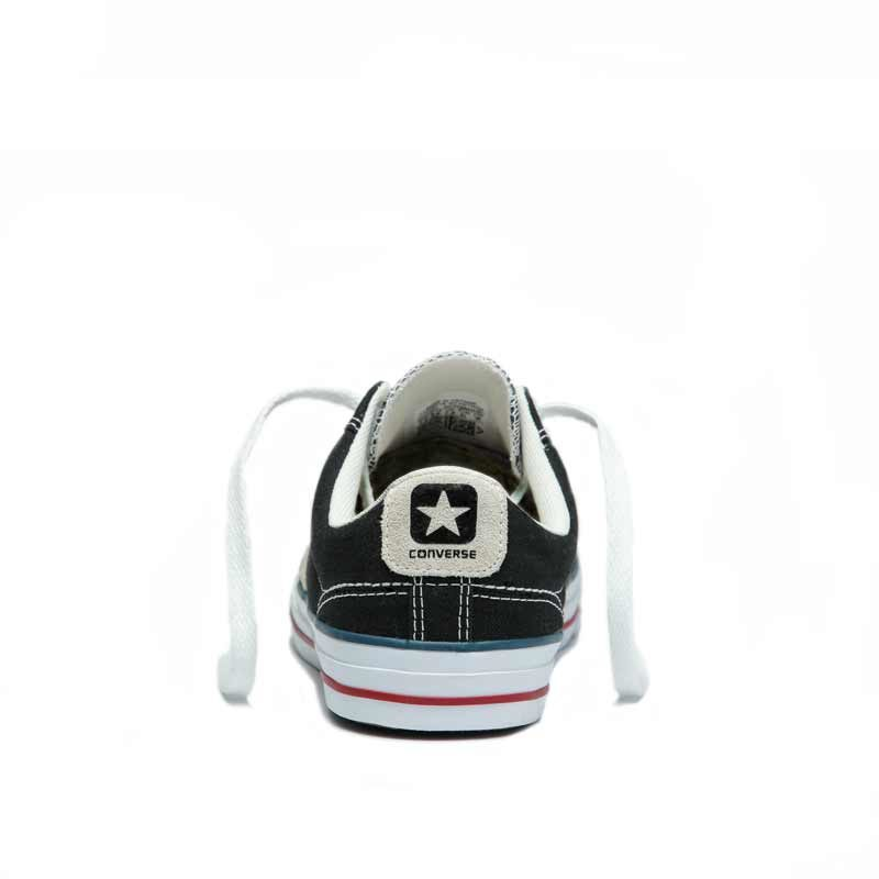 Converse boty Star Player OX Black Milk back