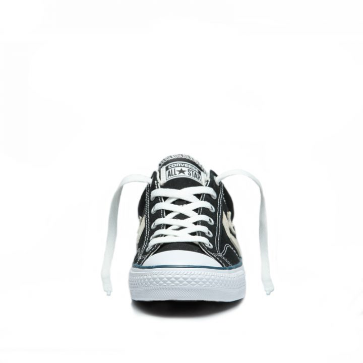 Converse boty Star Player OX Black Milk front