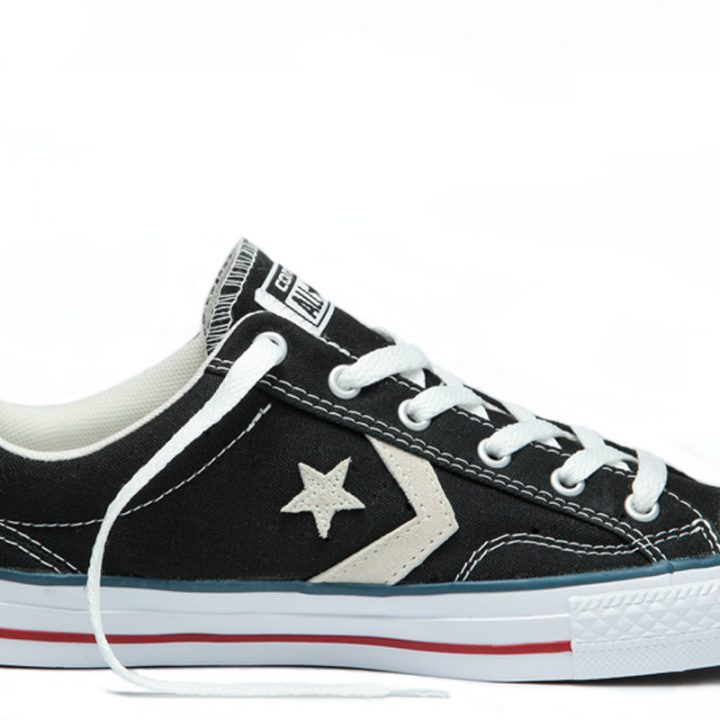 Converse boty Star Player OX Black Milk main