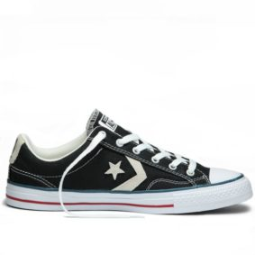 Converse boty Star Player OX Black Milk right