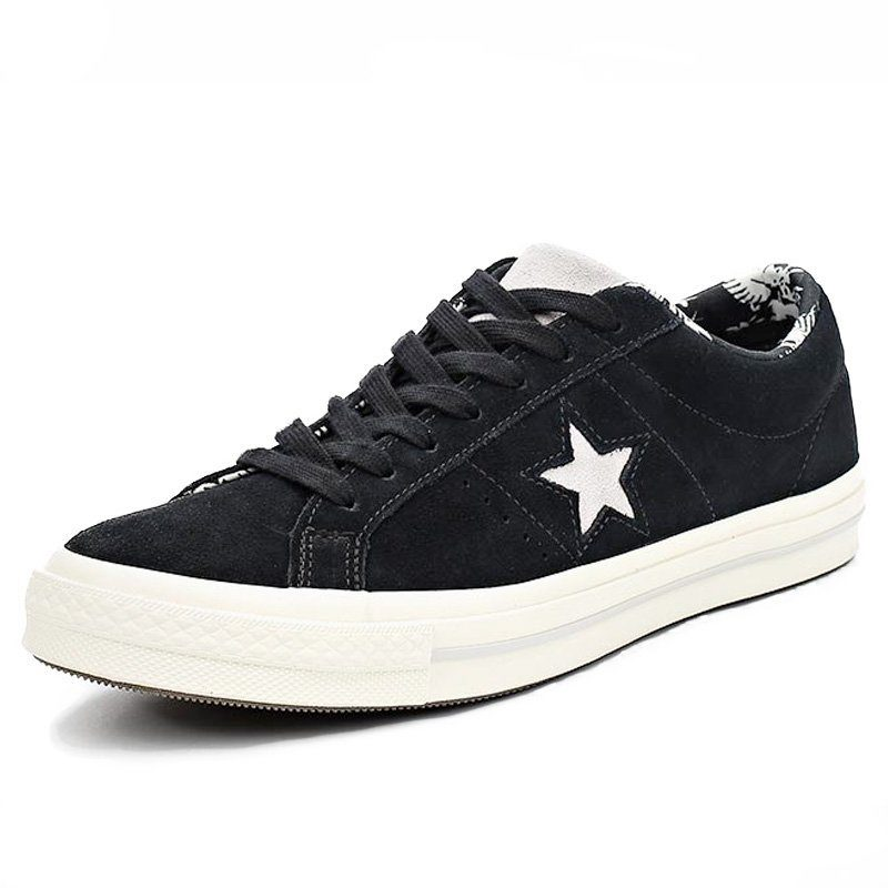 Converse boty One Star Tropical Feet Black left angle