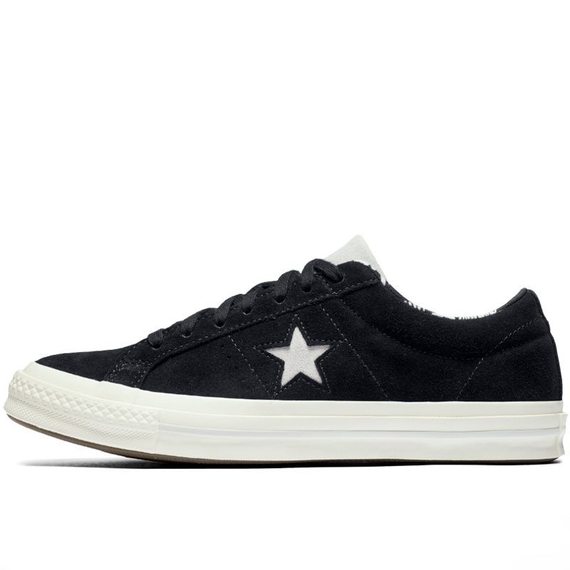 Converse boty One Star Tropical Feet Black left