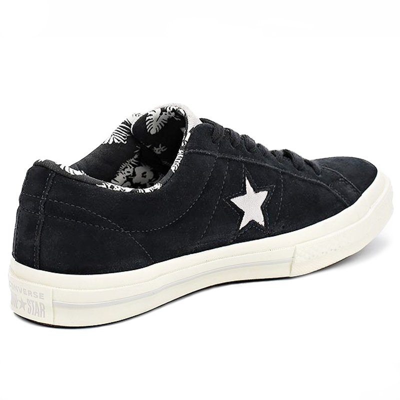 Converse boty One Star Tropical Feet Black angle r