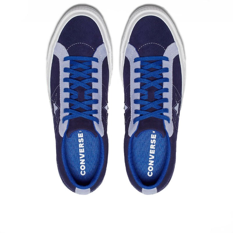 Converse Boty Panské One Star Carnival Blue Low Top top