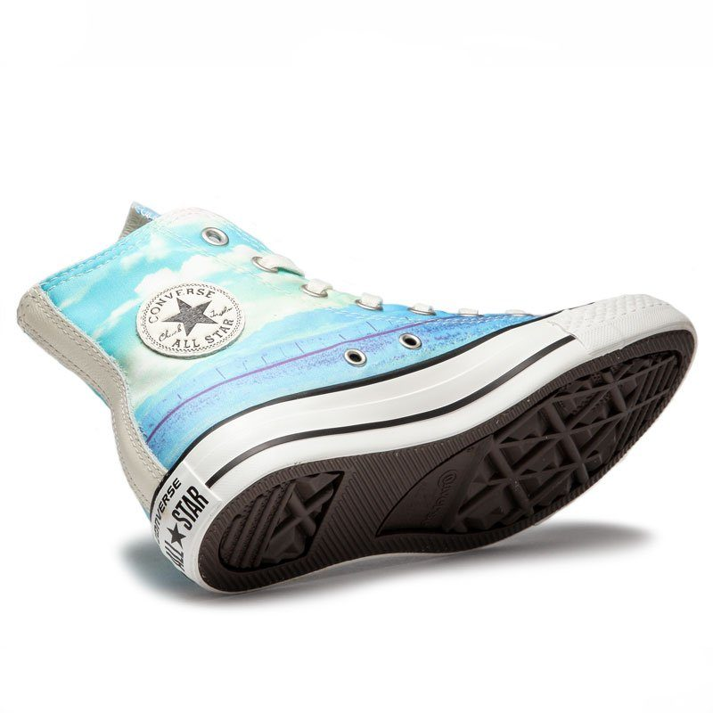 Converse boty Chuck Taylor All Star Spray Paint Blue angle2