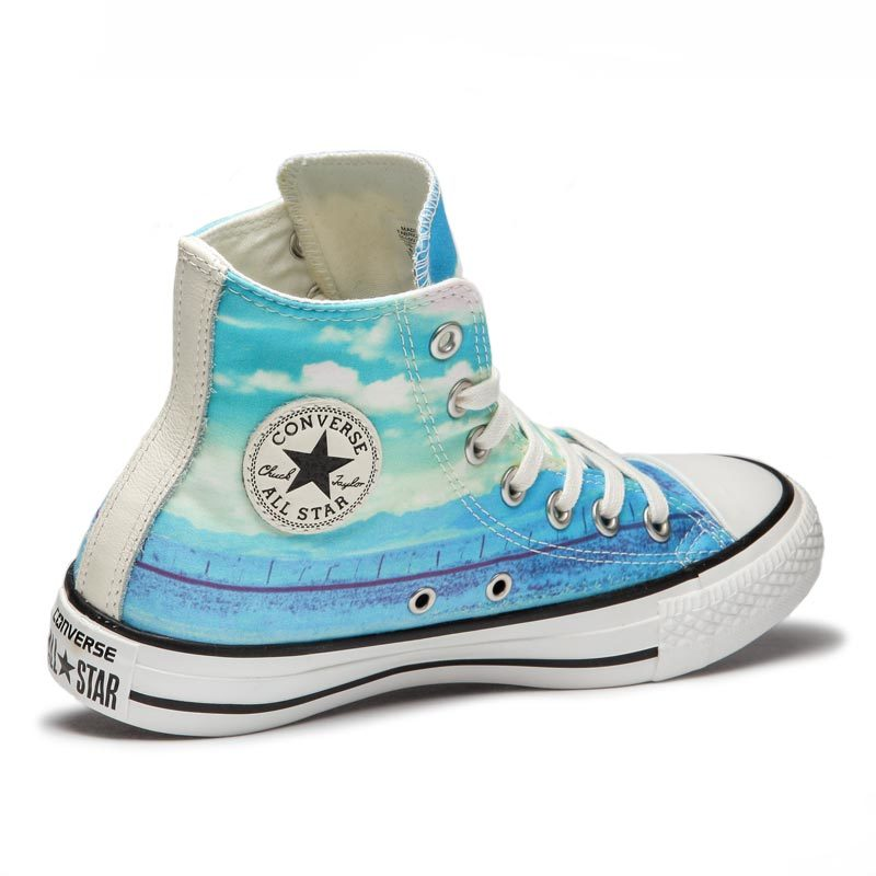 Converse boty Chuck Taylor All Star Spray Paint Blue anglee3