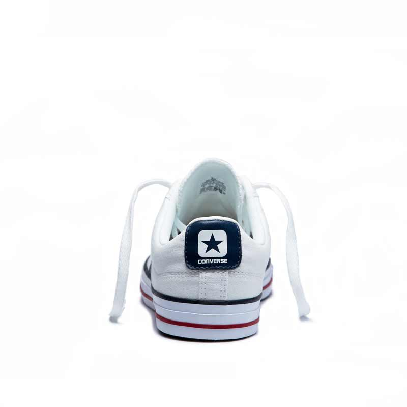 Converse boty Star Player OX White Navy back