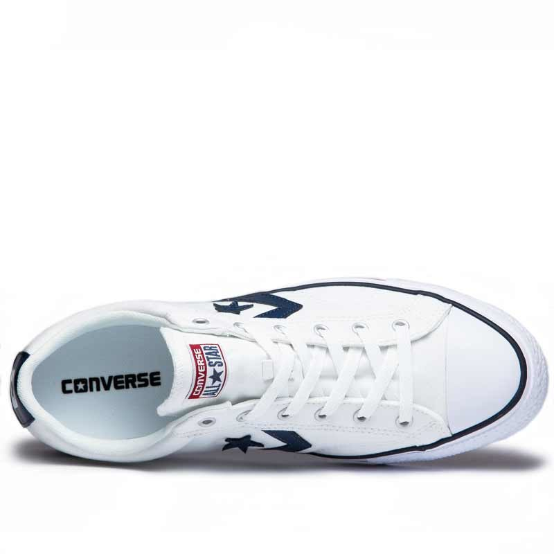 Converse boty Star Player OX White Navy top