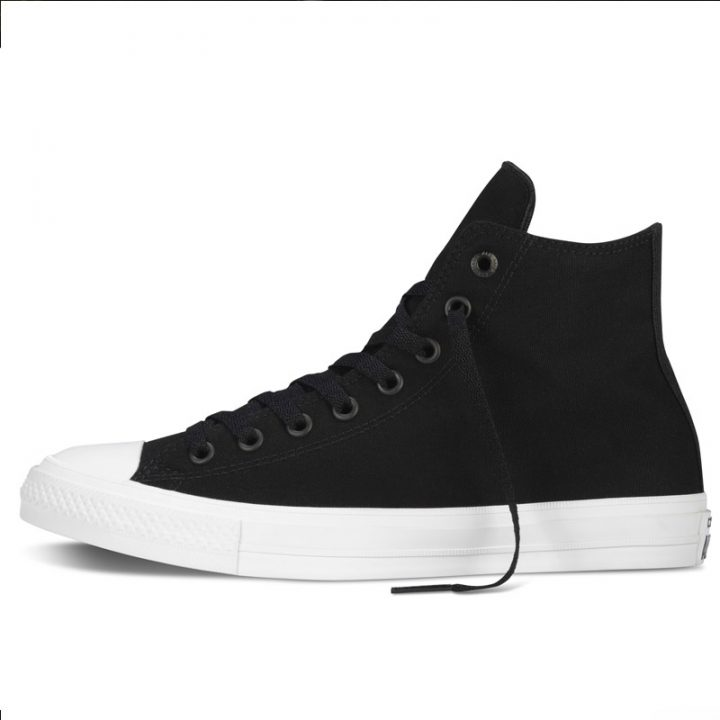 Converse boty Chuck Taylor All Star II Core Black left