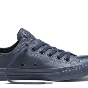 Converse boty Chuck Taylor All Star Leather Inked Monochrome Ox main