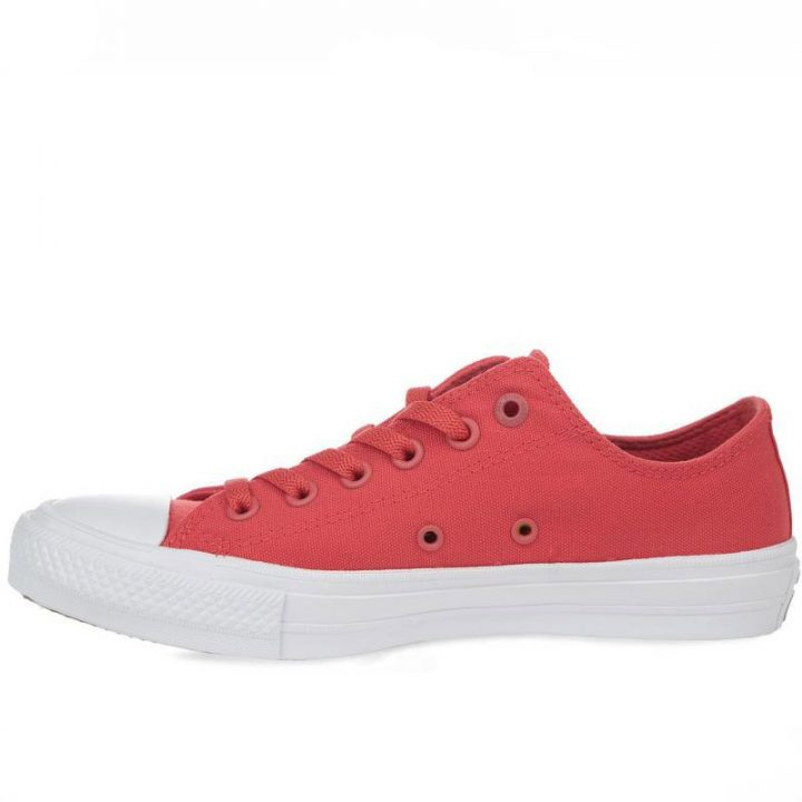 Converse boty Chuck Taylor All Star II NEON Red left