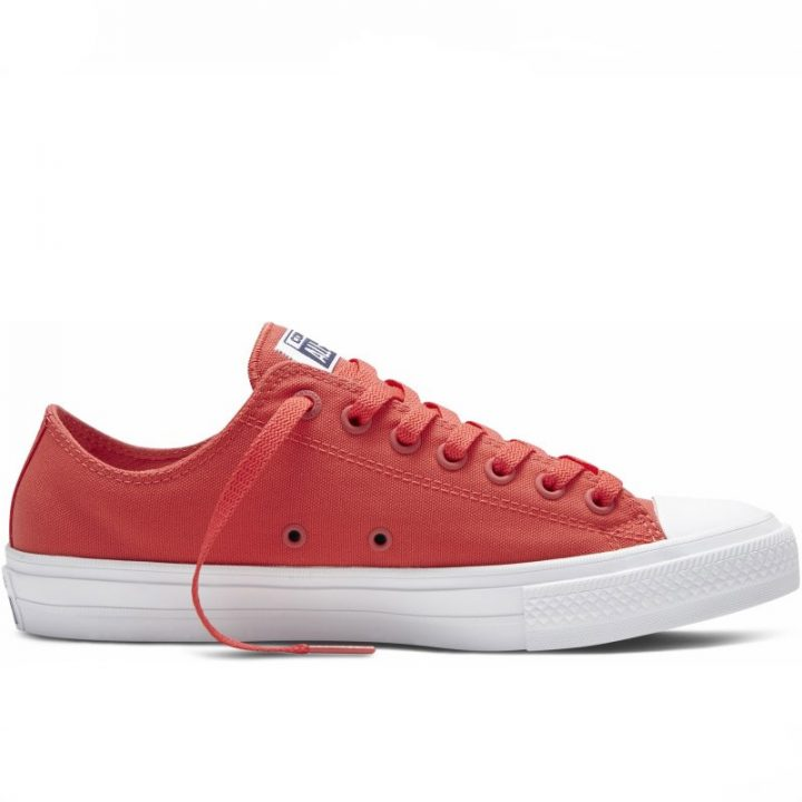 Converse boty Chuck Taylor All Star II NEON Red right