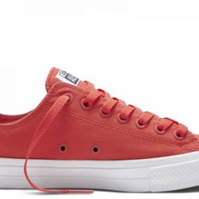 Converse boty Chuck Taylor All Star II NEON Red main