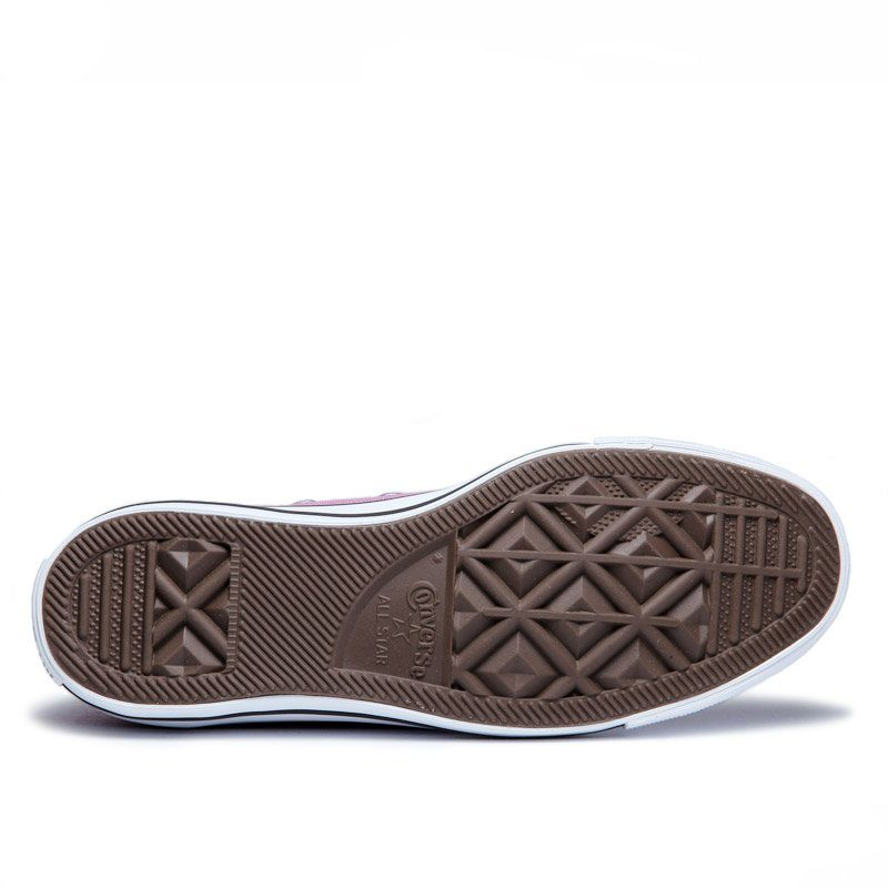 Converse boty Chuck Taylor Ox Powder Purple sole