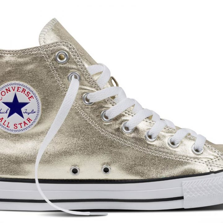Converse boty Chuck Taylor All Star Hi Light Gold Metallics main