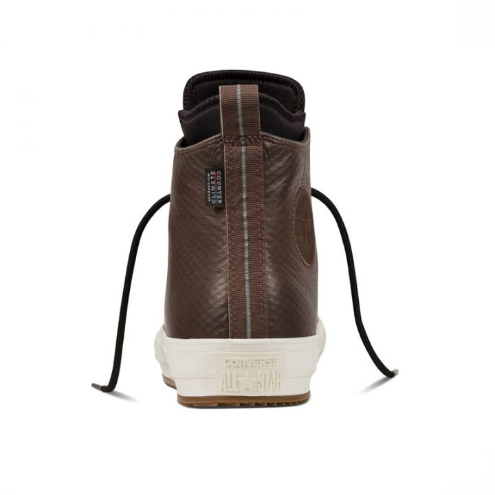 Converse boty All Star Boot PC Brown Leather back