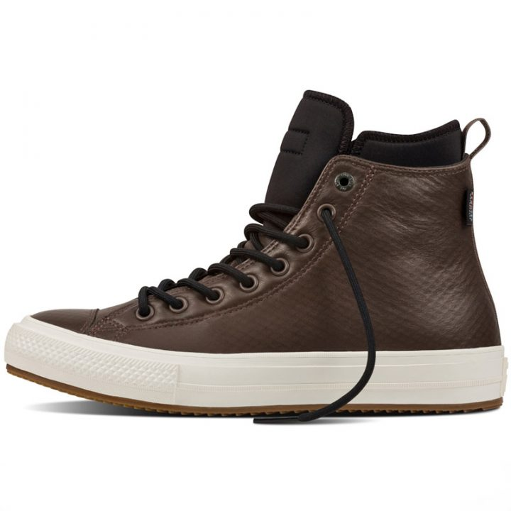 Converse boty All Star Boot PC Brown Leather left