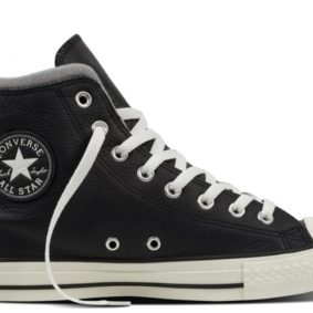 Converse boty Chuck Taylor Black Leather Wool main
