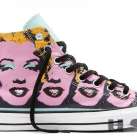 Converse boty All Star Andy Warhol Marilyn Monroe main