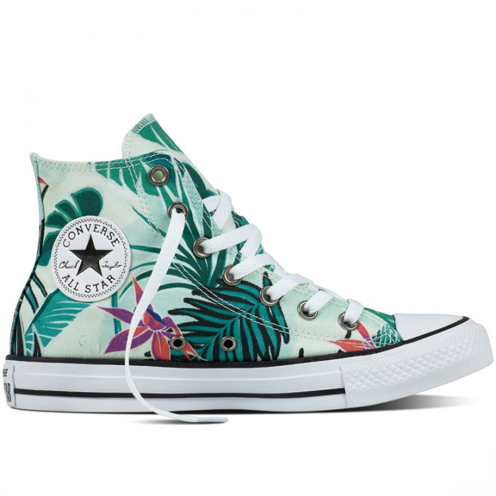 Converse boty Chuck Taylor All Star Tropical Print right