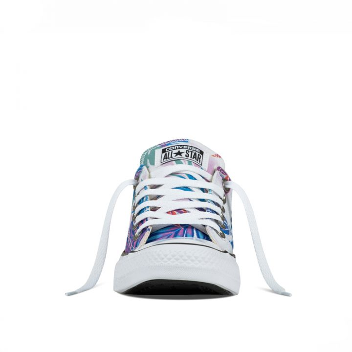 Converse boty Chuck Taylor All Star low Tropical Print front