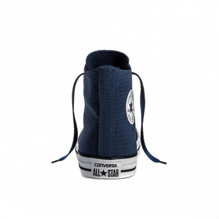Boty Converse Chuck Taylor All Star Classic Hi Perf Ripstop Athletic Navy back
