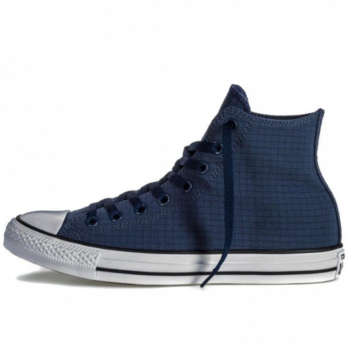 Boty Converse Chuck Taylor All Star Classic Hi Perf Ripstop Athletic Navy left