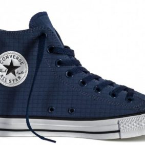 Boty Converse Chuck Taylor All Star Classic Hi Perf Ripstop Athletic Navy main