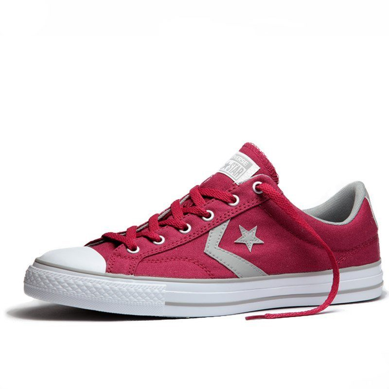 Converse boty Star Player OX Rhubarb Dolphin angle
