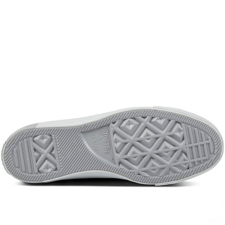 Boty kozene Converse Chuck Taylor All Star Blocked Nubuck Pure Pure Platinum sole