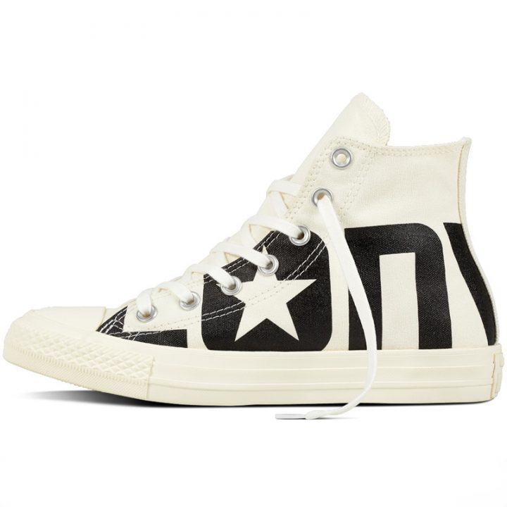 Converse boty Chuck Taylor All Star Wordmark High Egret left