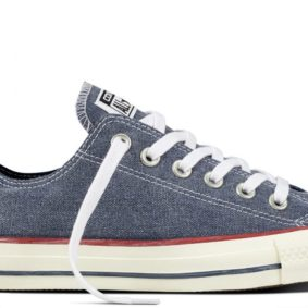 Boty Converse Chuck Taylor All Star Stone Wash Ox Navy main