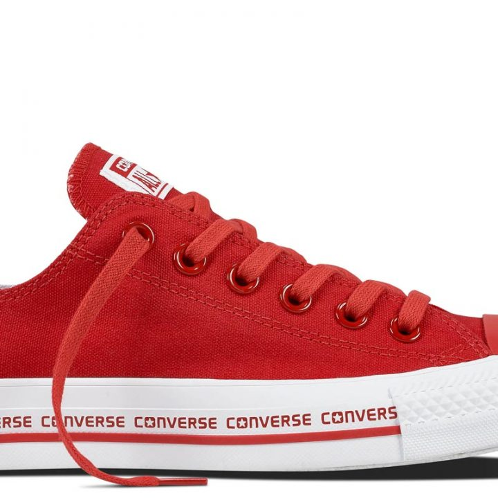 Converse boty Сhuck Taylor All Star Wordmark Red Low main