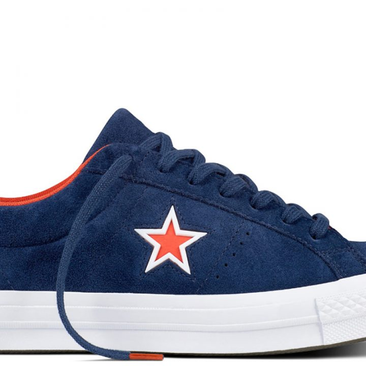 Boty Converse One Star Suede Modler Star Navy main
