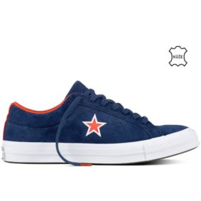 Boty Converse One Star Suede Modler Star Navy right