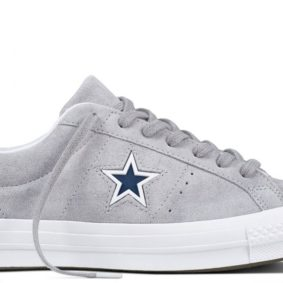 Boty Converse One Star Suede Modler Star Golf Grey main