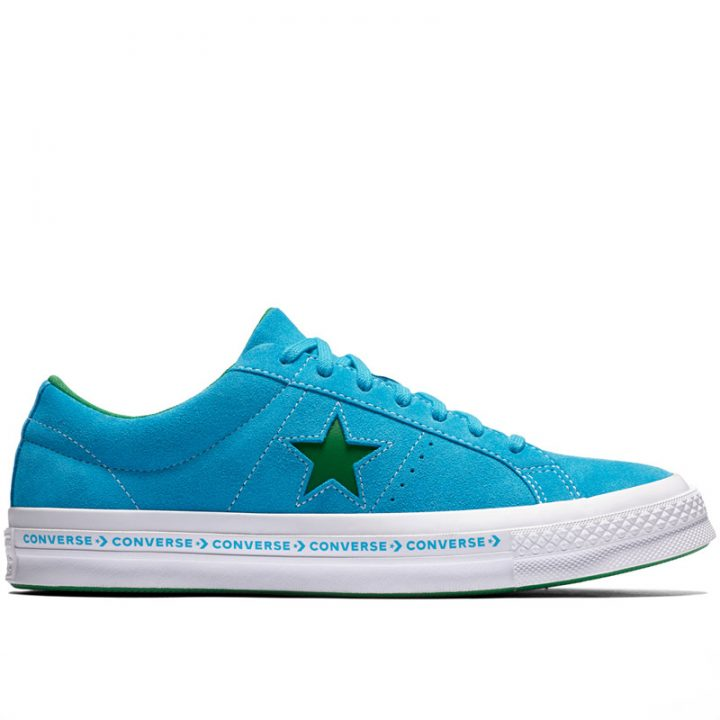 Converse boty One Star OX Hawaiian Ocean right
