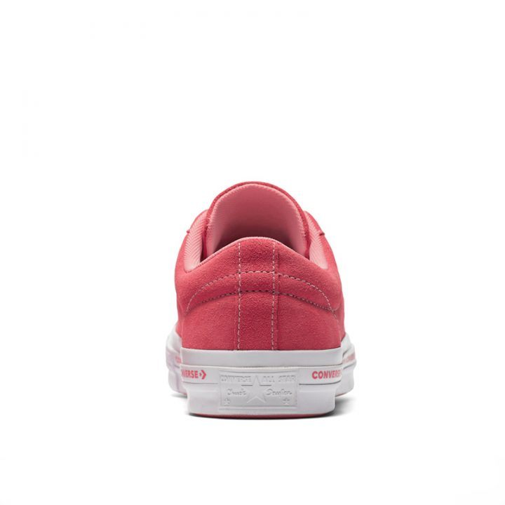 Converse boty One Star OX Paradise Pink back