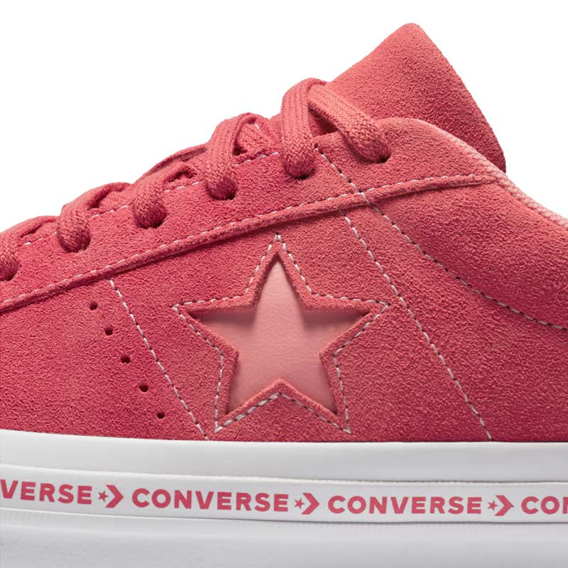 Converse boty One Star OX Paradise Pink detail1
