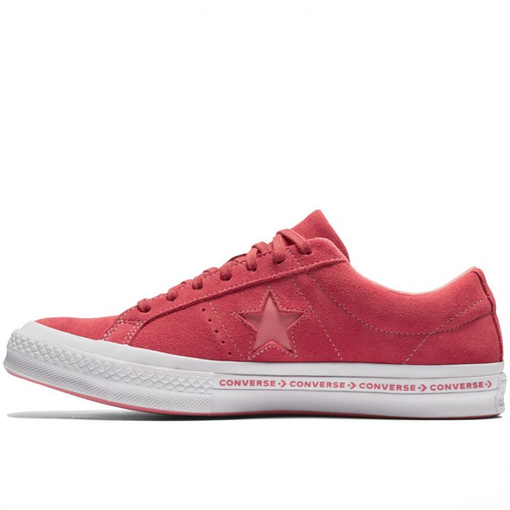 Converse boty One Star OX Paradise Pink left