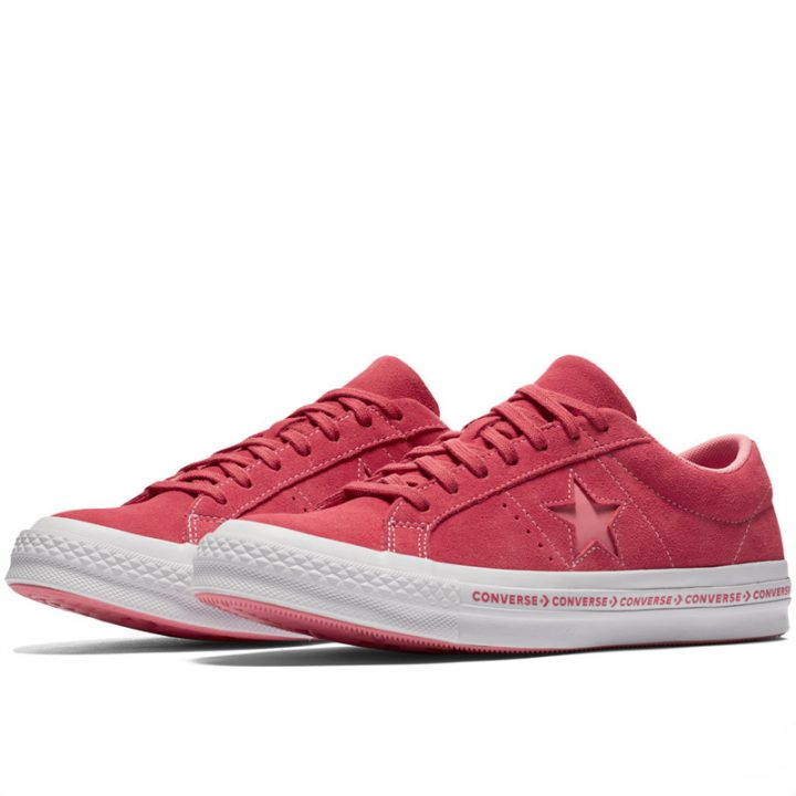 Converse boty One Star OX Paradise Pink pairleft