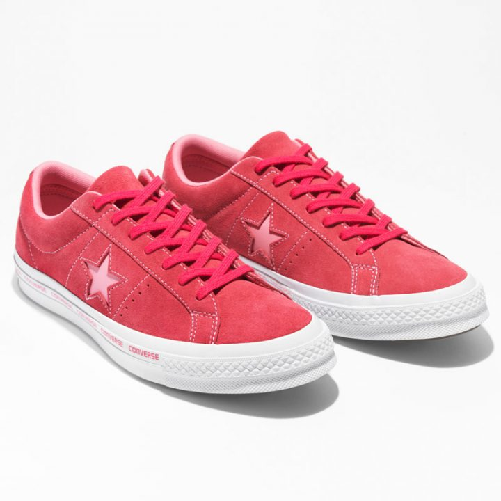 Converse boty One Star OX Paradise Pink pairright