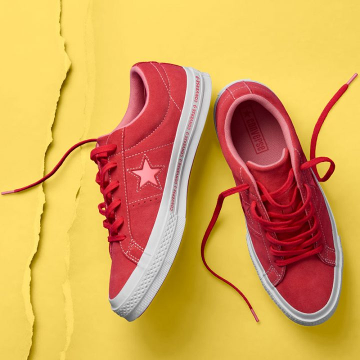 Converse boty One Star OX Paradise Pink promo2