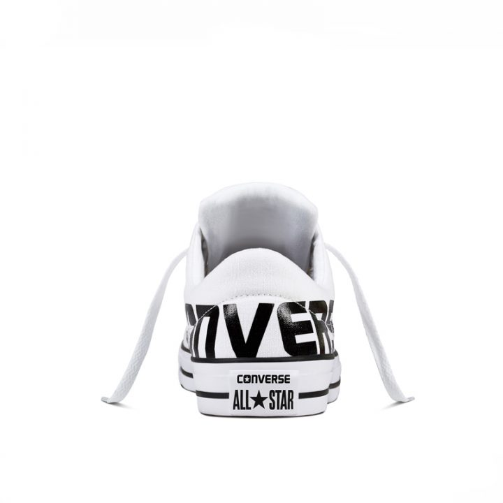 Converse boty Chuck Taylor All Star Street Canvas white back