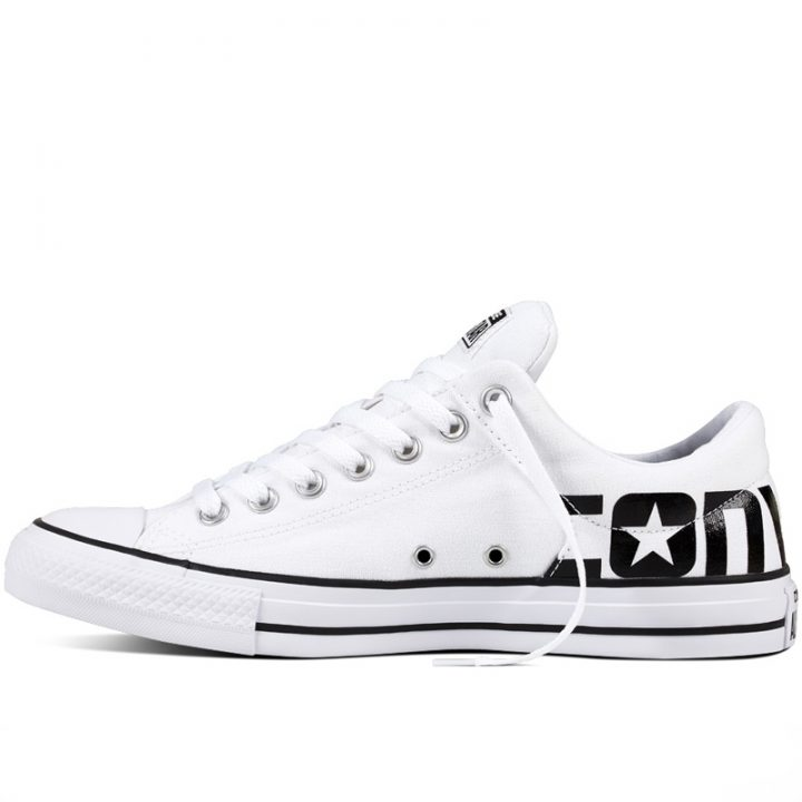 Converse boty Chuck Taylor All Star Street Canvas white left