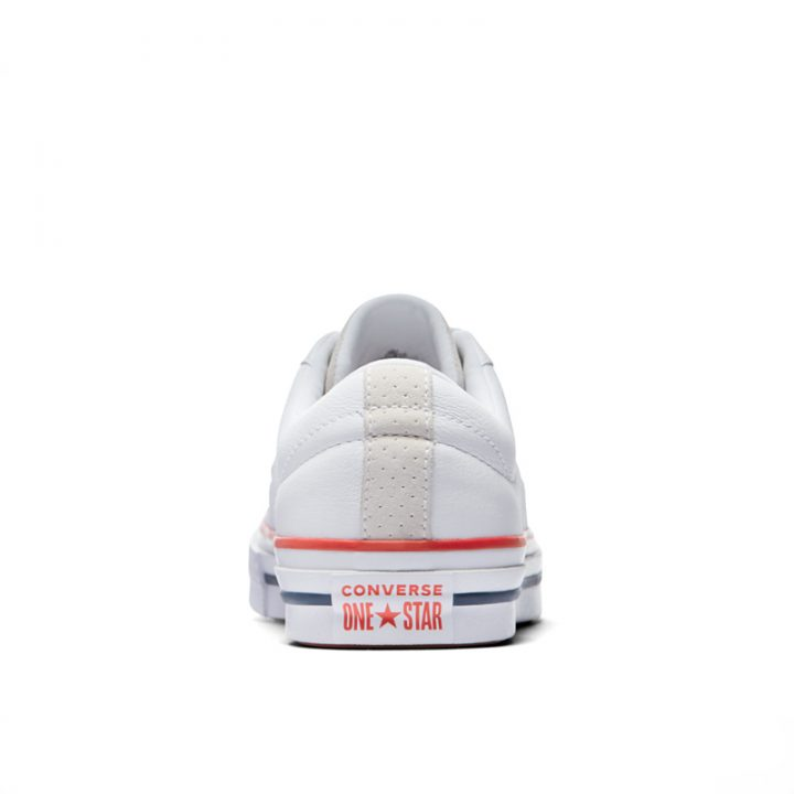 Boty Converse One Star Heritage Low Top White back