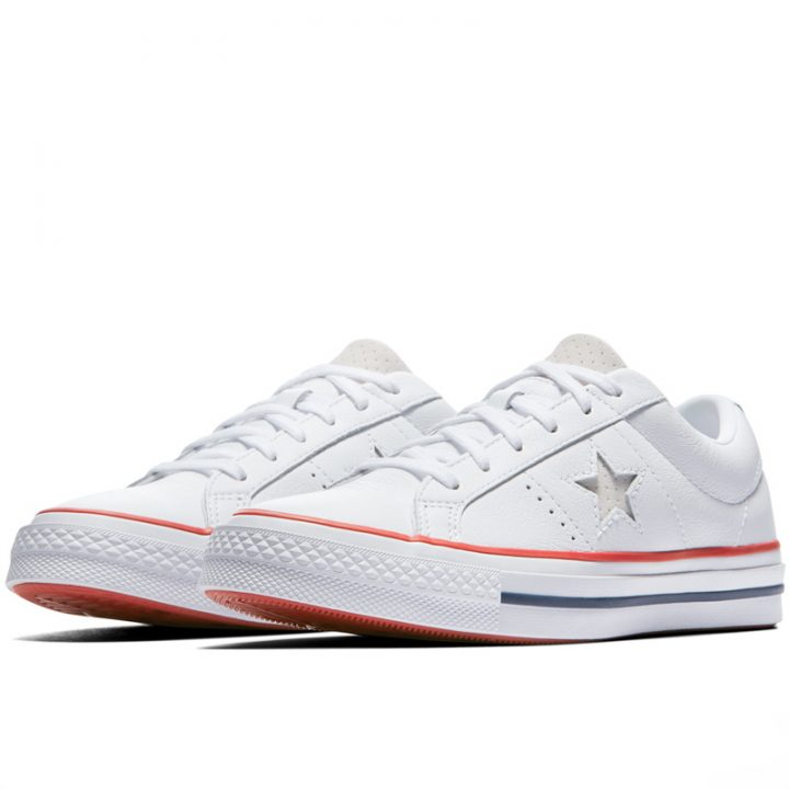 Boty Converse One Star Heritage Low Top White pair