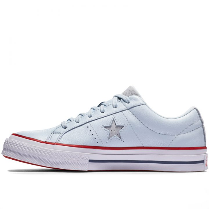 Boty Converse One Star Heritage Low Top Blue Tint left