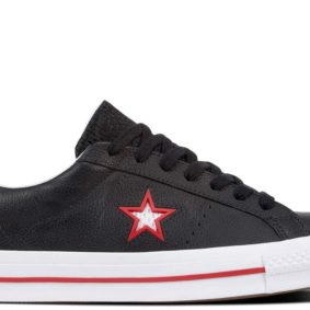 Converse boty One Star Ox Leather Black main