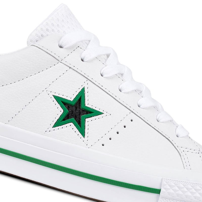 Converse boty One Star Ox Leather White star